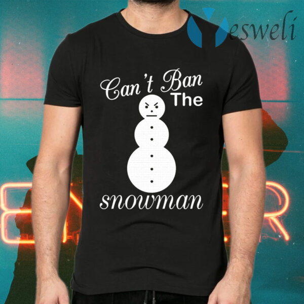 Jeezy Can't Ban The Snowman T-Shirts