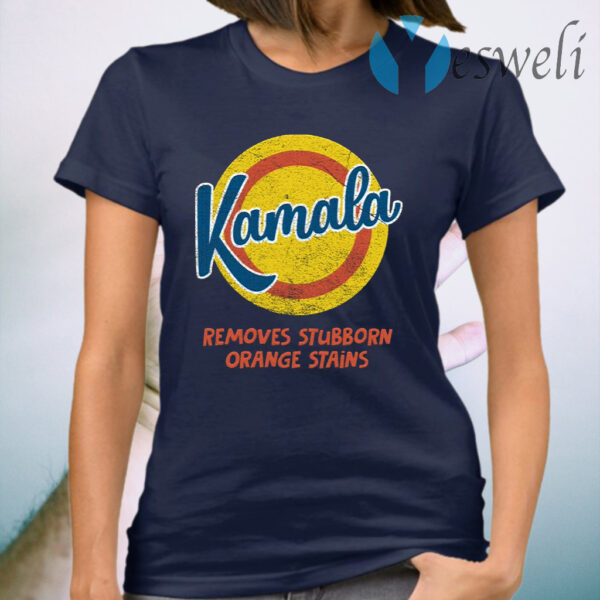 Kamala Harris 2020 Remove Stubborn Orange Stain Anti Trump Vote Detergent T-Shirt