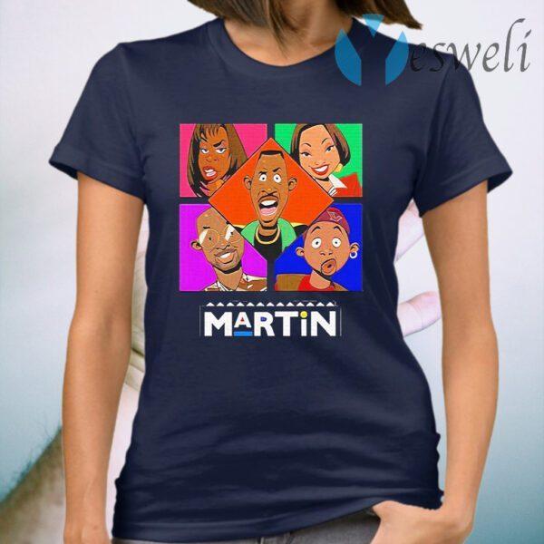 Martin Lawrence's Martin cartoon T-Shirt