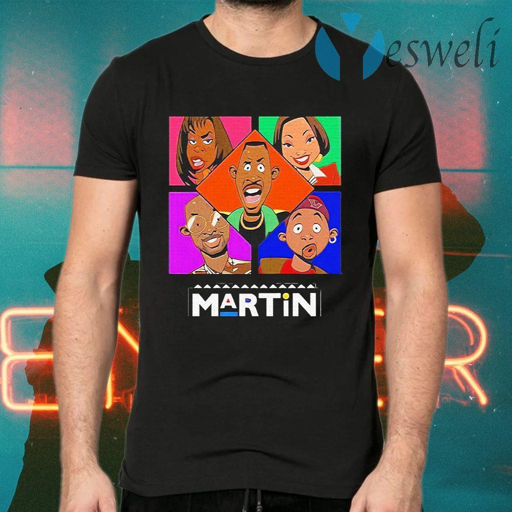 Martin Lawrence's Martin cartoon T-Shirts