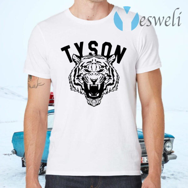 Mike tyson tiger T-Shirts