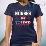 Nurses For Trump Shirt Funny Pro Trump Nurse T-Shirt