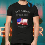One Nation Under God Since 1776 T-Shirts