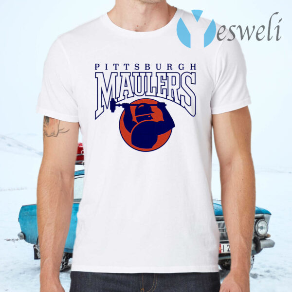 Pittsburgh Maulers football logo T-Shirts