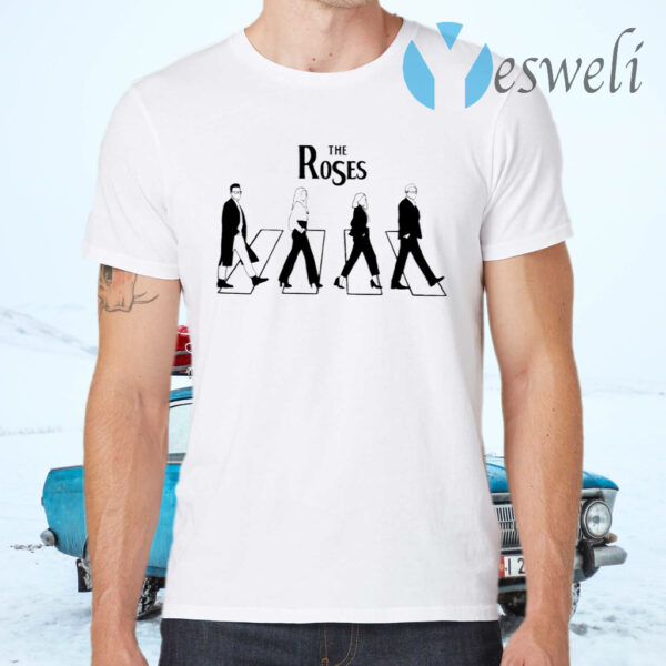 Schitt's Creek The Roses Abbey Road T-Shirts