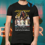 Star Wars 44th anniversary 1977 2021 thank you for the memories signatures T-Shirts