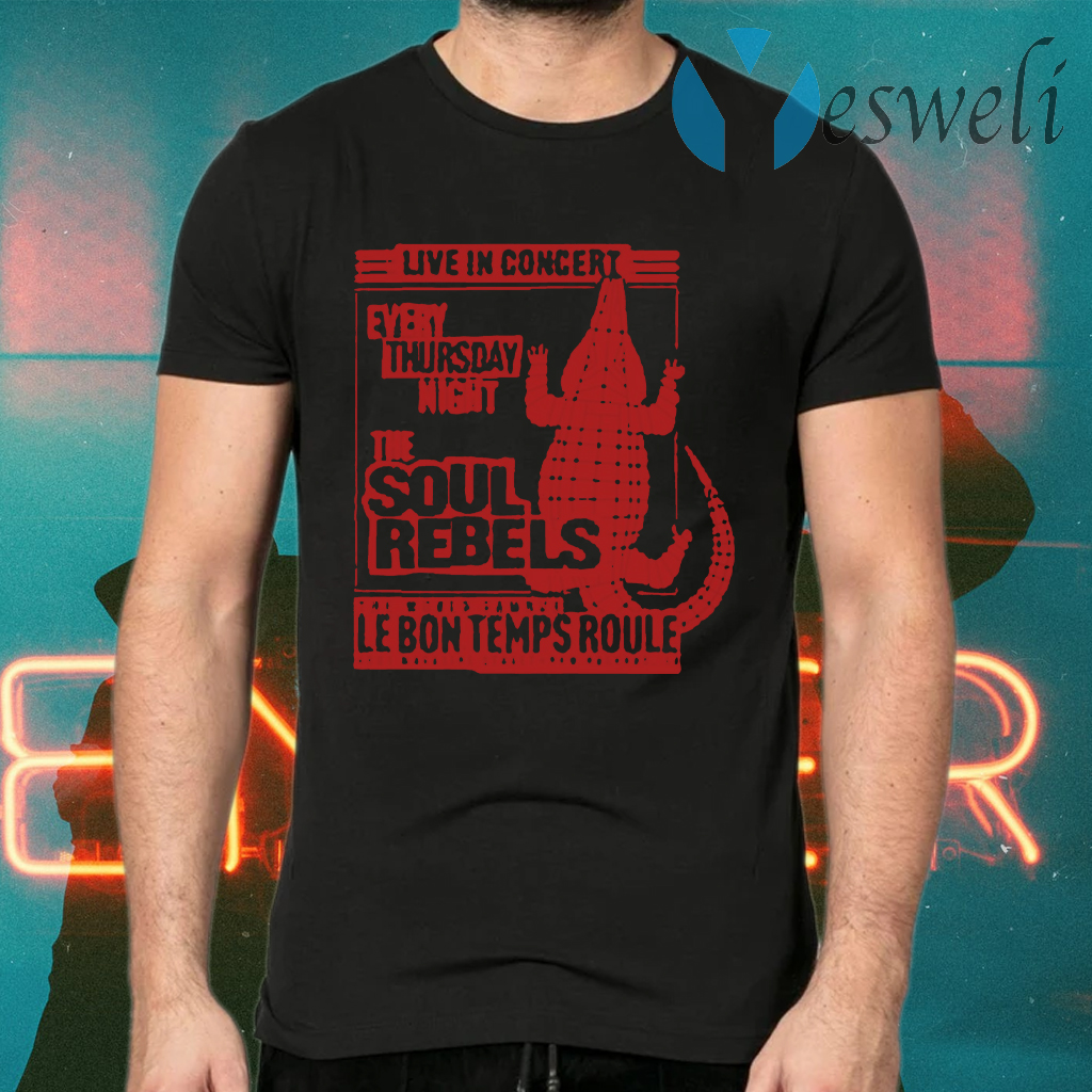 The Soul Rebels Live At Le Bon Temps T-Shirts