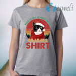 Vintage This My Christmas Pajama Cat Lover T-Shirt