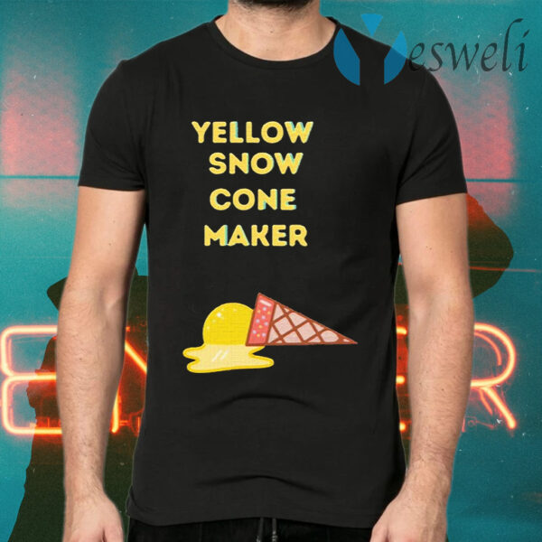 Yellow Snow Cone Maker T-Shirts
