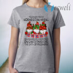 You Know You're Norwegian When God Jul You Celebrate Christmas T-Shirt