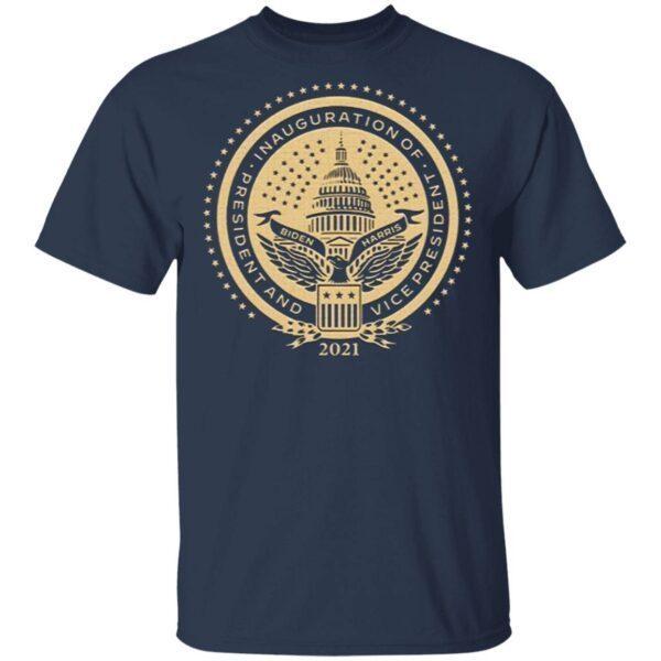 Biden Harris Inaugural Seal T-Shirt