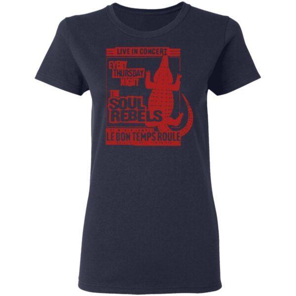 The Soul Rebels Live At Le Bon Temps T-Shirt