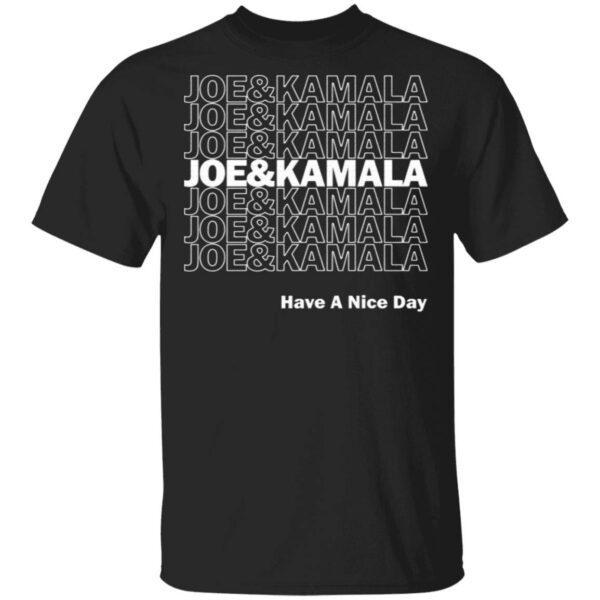 Joe and Kamala Have a T-Shirt