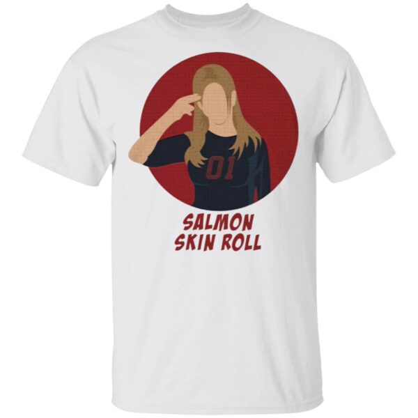 Rachel Salmon Skin Roll T-Shirt