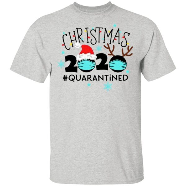 Christmas Quarantine Funny Christmas Lights T-Shirt