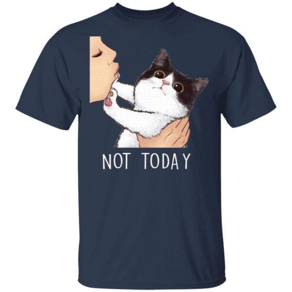 Not Today No Kisses Cat T-Shirt