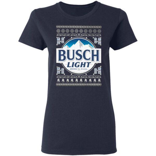 Busch Light 2020 Ugly Christmas T-Shirt