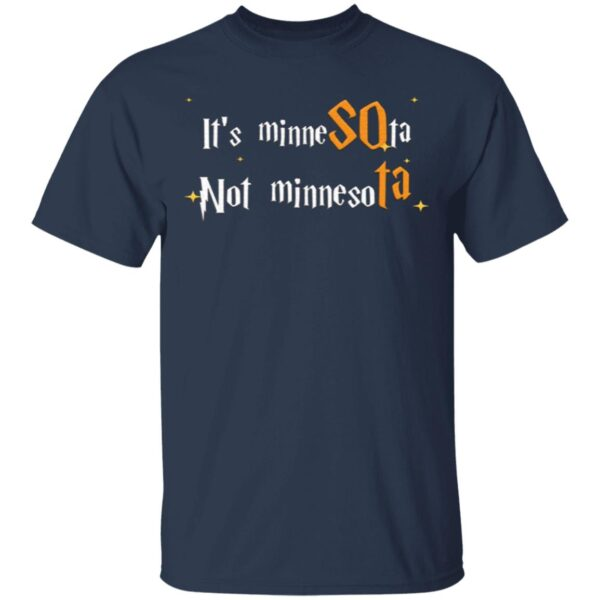 Its Minnesota Not Minnesota T-Shirt