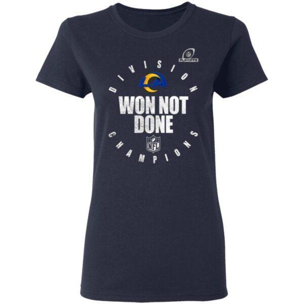 Los angeles rams champions 2020 Won Not Don T-Shirt