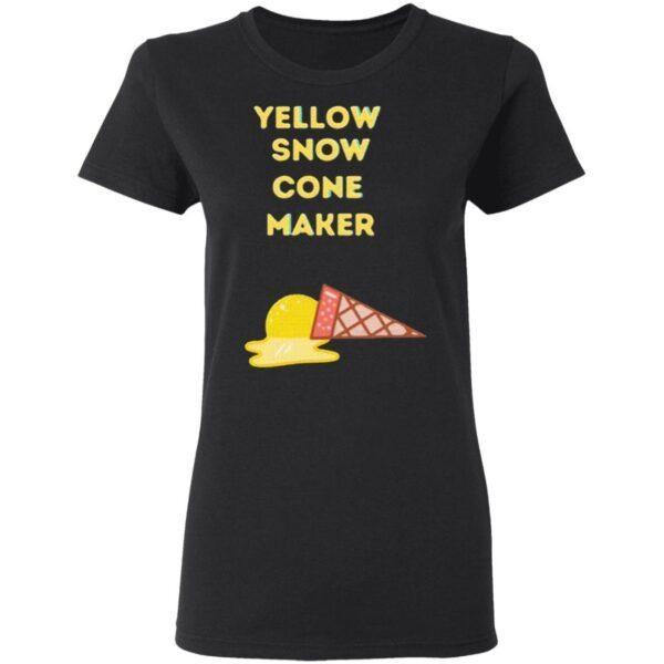 Yellow Snow Cone Maker T-Shirt