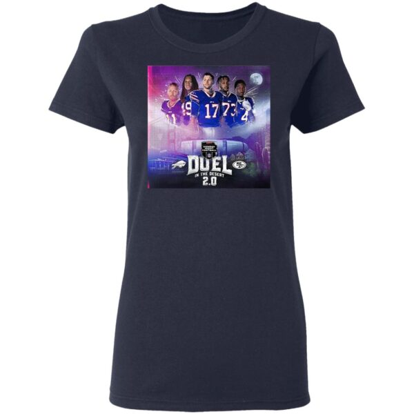 Buffalo Bills monday night football duel in the desert 2.0 T-Shirt