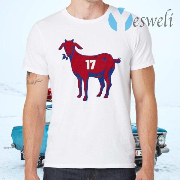 17 Goat Allen For Buffalo Bill 2021 T-Shirt