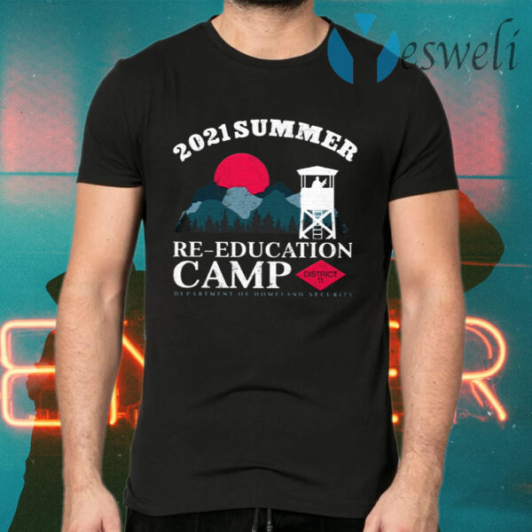 2021 Summer Re-Education Camp T-Shirt