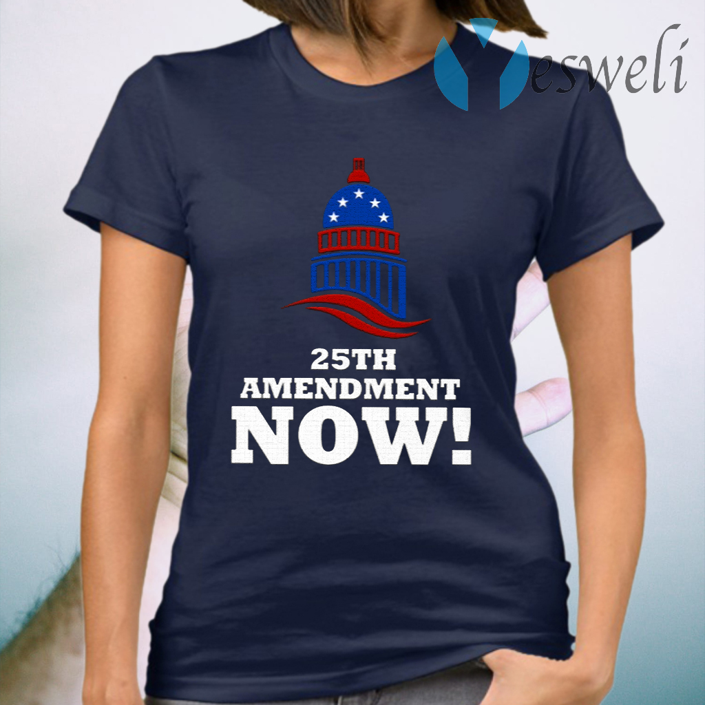 25th Amendment Now Remove Trump from Office T-Shirt