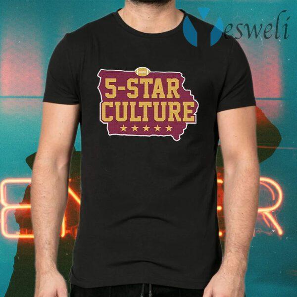 5 star culture T-Shirts