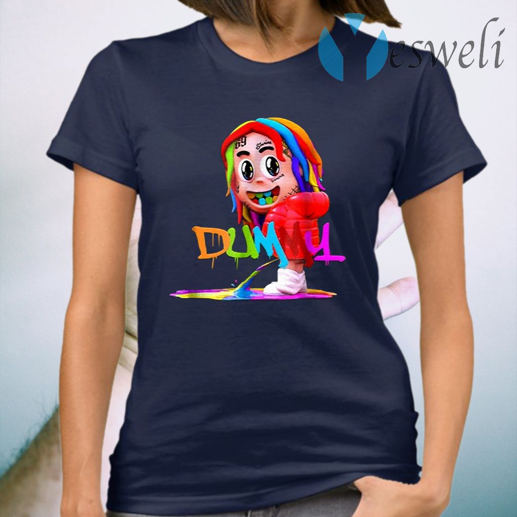 6iX9iNe Dummy Boy Rainbow Hiphop T-Shirt