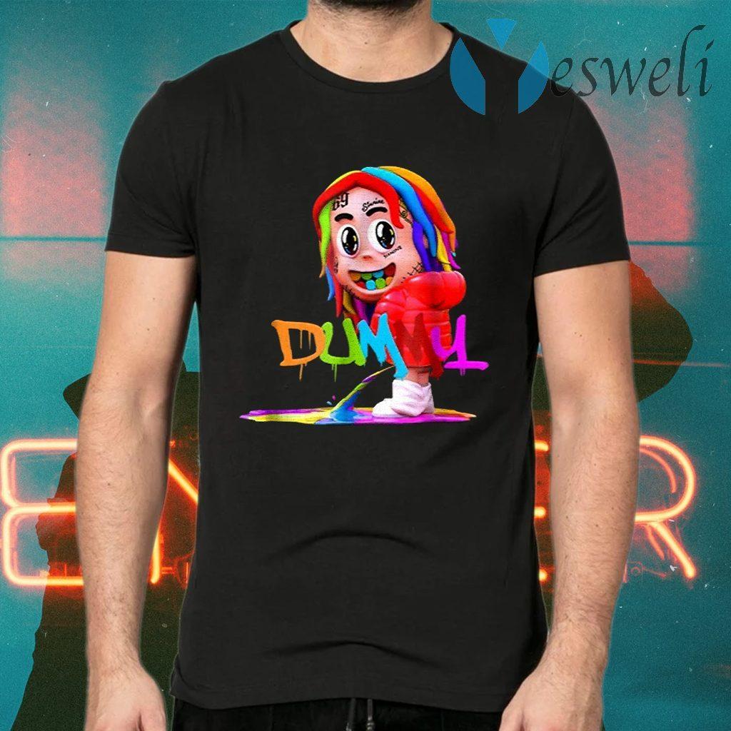 6iX9iNe Dummy Boy Rainbow Hiphop T-Shirts