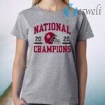 Alabama football alabama champs helmet T-Shirt