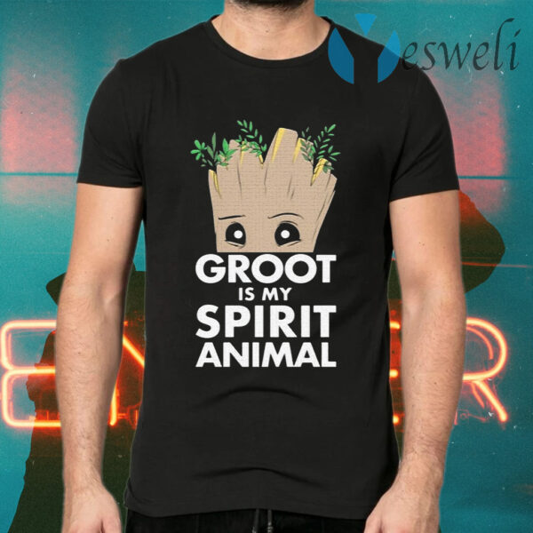 Baby Groot is my spirit animal T-Shirt