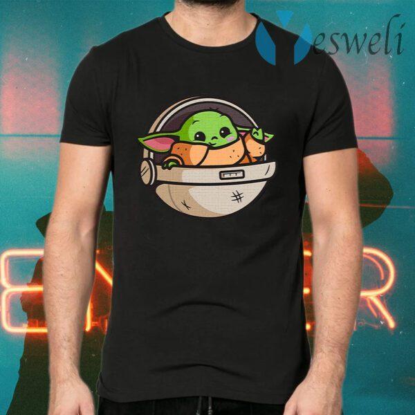 Baby Yoda Pod T-Shirts