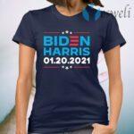 Biden Harris 1 20 2021 Inauguration Day 46th President T-Shirt