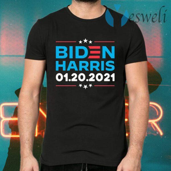 Biden Harris 1 20 2021 Inauguration Day 46th President T-Shirts