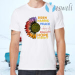 Biden Harris Peace Love Equality Hope Diversity Biden Harris 2020 T-Shirts