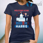 Biden Harris Welcome to the White House 46th President Inauguration Day 2021 T-Shirt