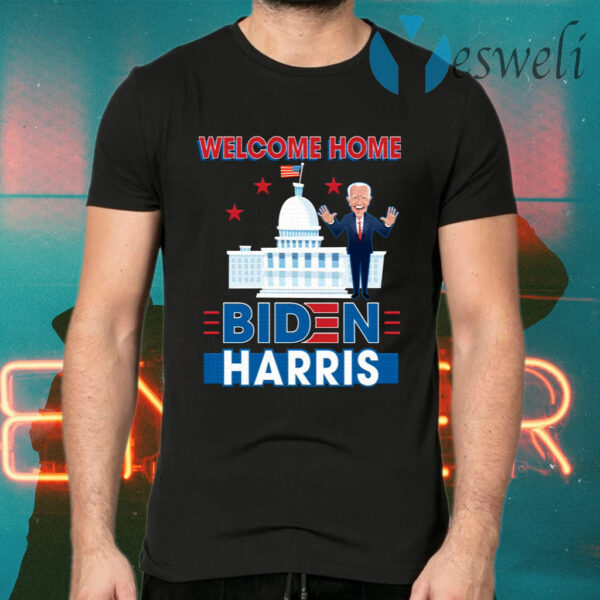Biden Harris Welcome to the White House 46th President Inauguration Day 2021 T-Shirts