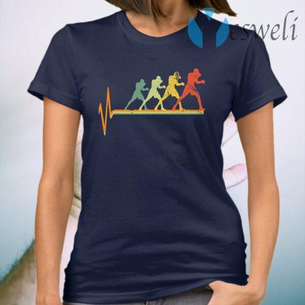 Boxing Heartbeat Vintage T-Shirt