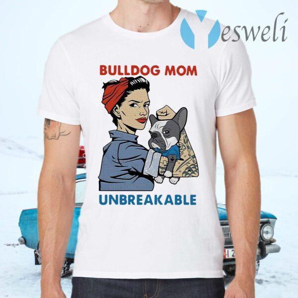 Bulldog Unbreakable Tattoo Women T-Shirts