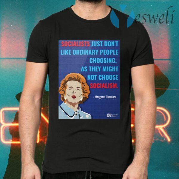 CA Thatcher Socialist T-Shirts