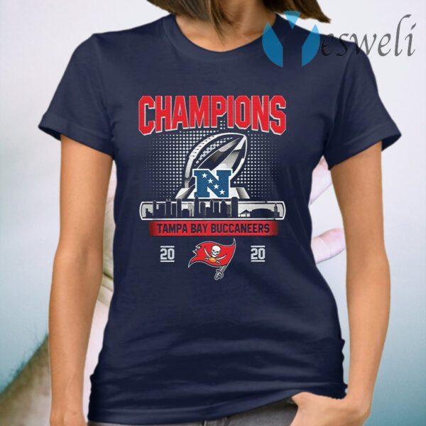 Champions Tampa Bay Buccaneers 2020 NFC T-Shirt