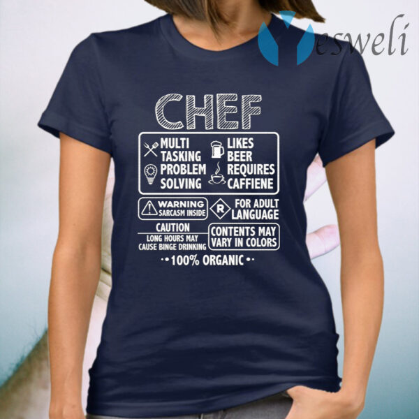 Chef Definition T-Shirt