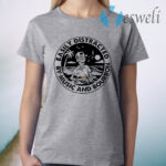 Easily Distracted By Music And Bourbon Skeleton Beach T-Shirt