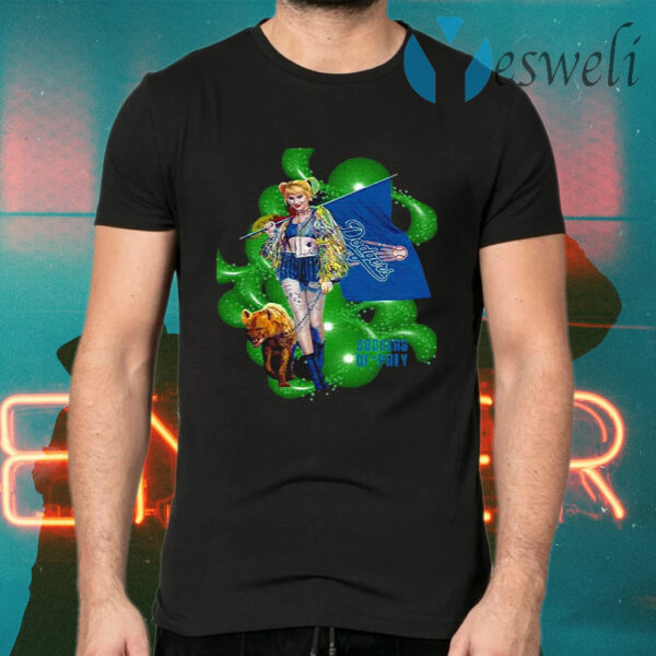 Harley Quinn Dodgers Prey T-Shirt