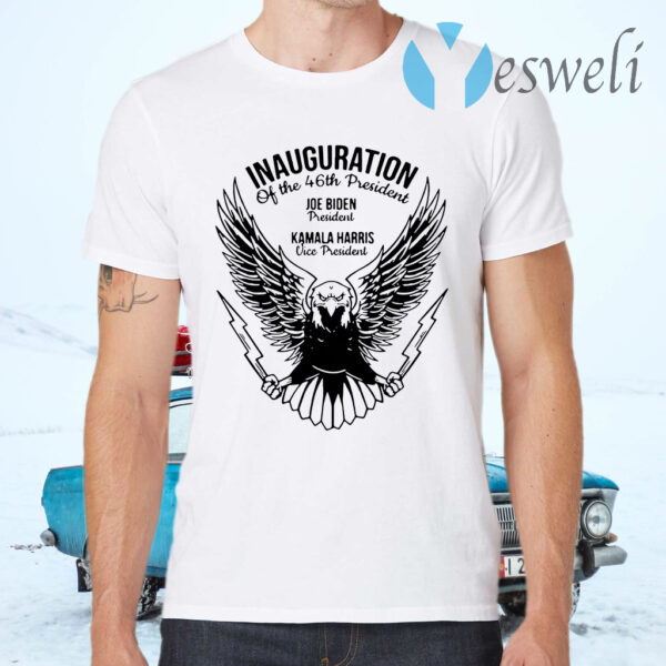 Inauguration of the 46th president Joe Biden president Kamala Harris vice president T-Shirts