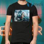 Jesus God He walks on water T-Shirts