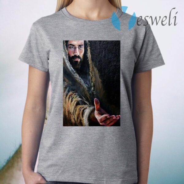 Jesus Reaching Hand T-Shirt