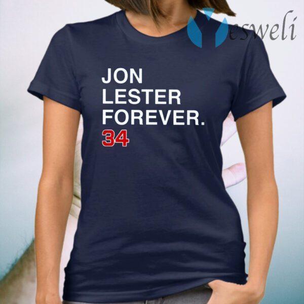 Jon Lester Forever 34 T-Shirt